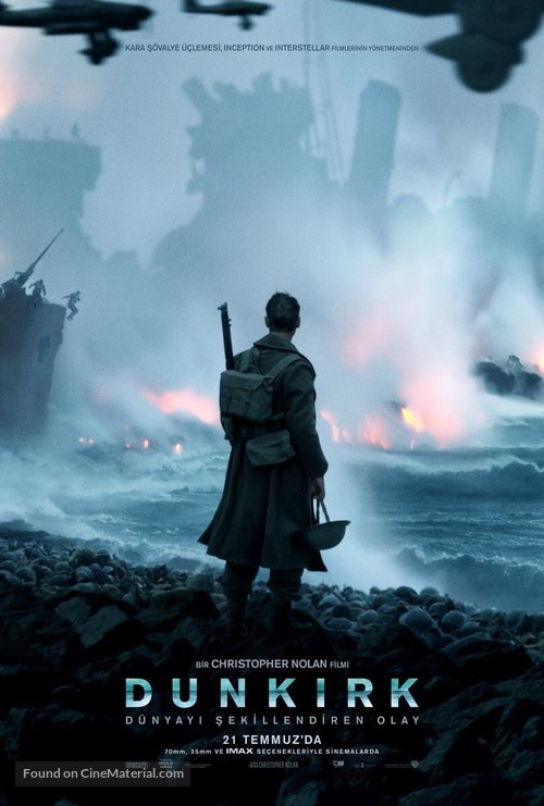 Dunkirk - Turkish Movie Poster