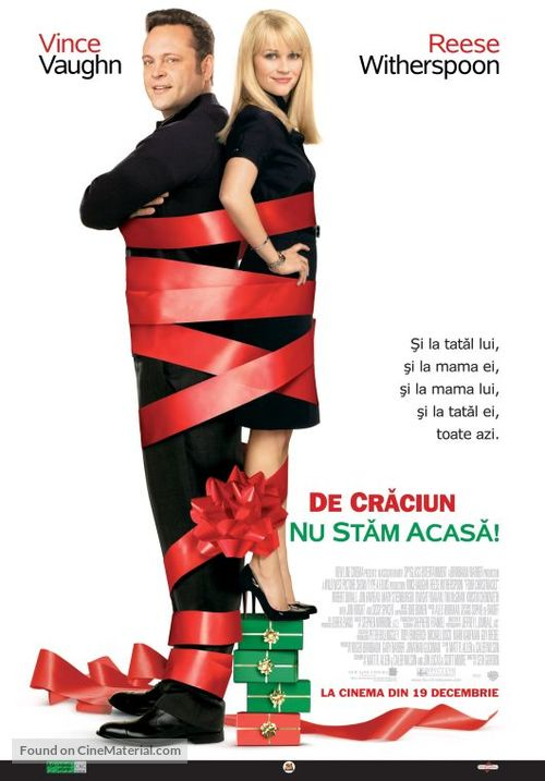 Four Christmases - Romanian Movie Poster