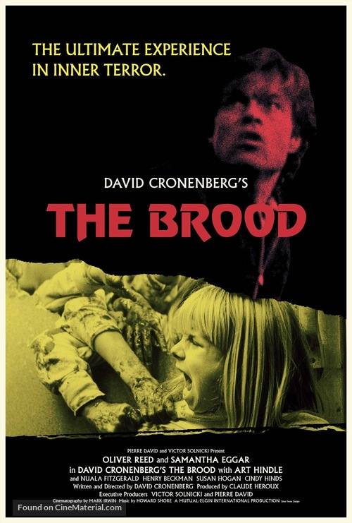The Brood - Movie Poster