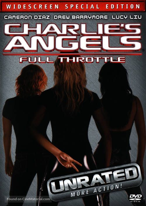 Charlie S Angels Full Throttle 2003 Movie Cover