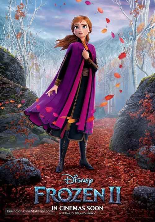 Frozen II - Irish Movie Poster