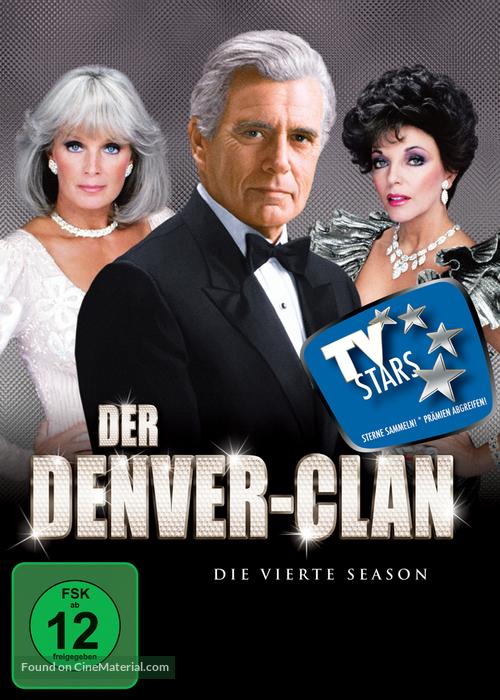 """""""Dynasty"""" - German DVD movie cover"""