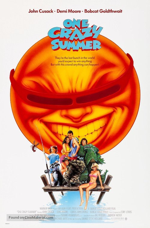 One Crazy Summer - Movie Poster