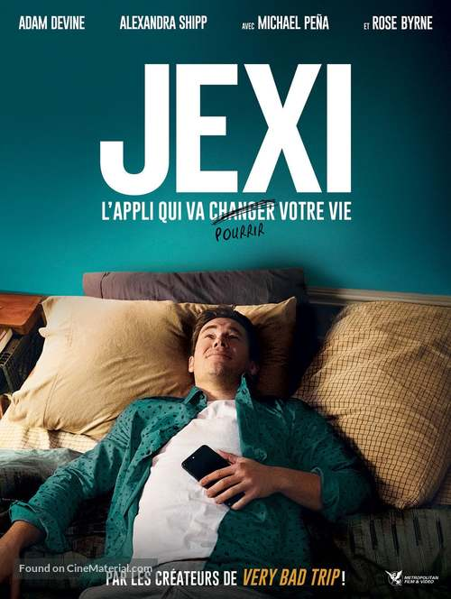 Jexi - French Movie Poster