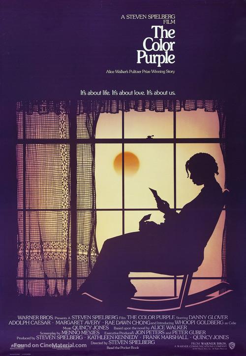 The Color Purple - Advance movie poster
