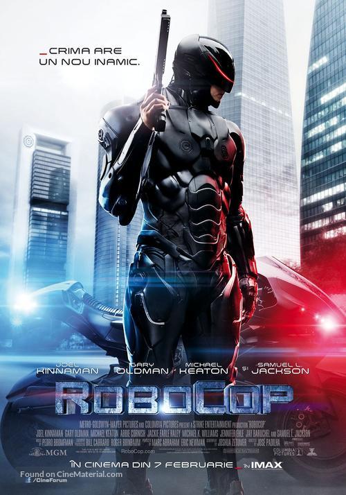 RoboCop - Romanian Movie Poster
