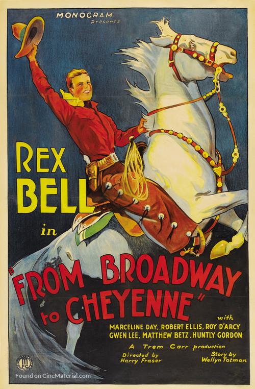Broadway to Cheyenne - Movie Poster