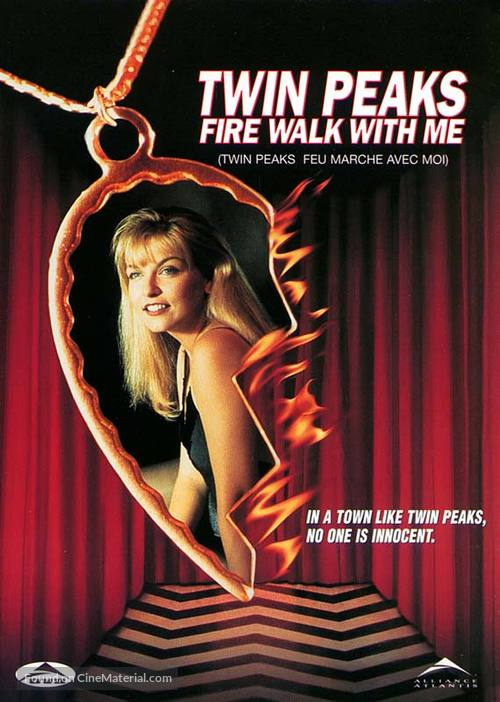 Twin Peaks: Fire Walk with Me - Canadian DVD movie cover