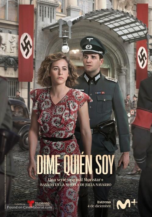 """Dime quién soy"" - Spanish Movie Poster"
