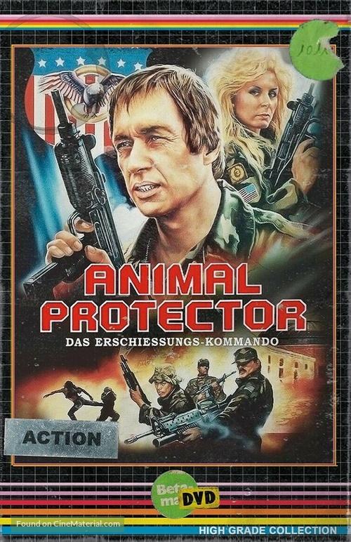 Animal Protector - German DVD movie cover