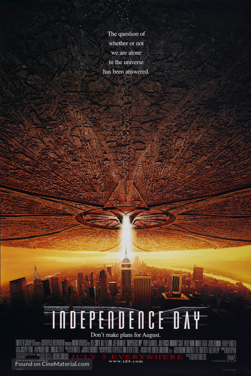 Independence Day - Movie Poster