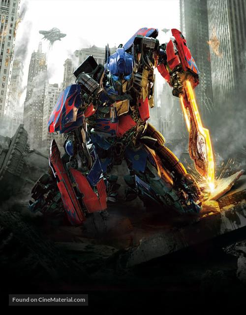 Transformers: Dark of the Moon - Key art