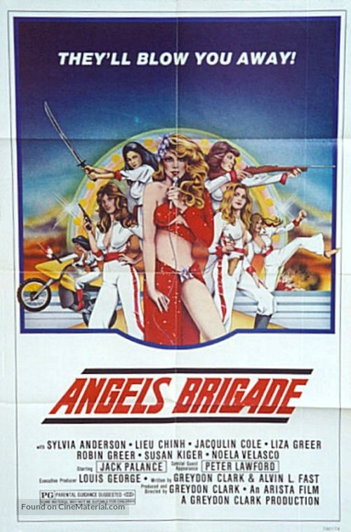 Angels' Brigade - Movie Poster