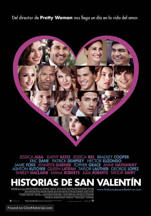 Valentine's Day - Spanish Movie Poster