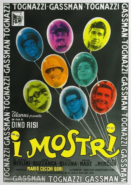 I mostri - Italian Movie Poster