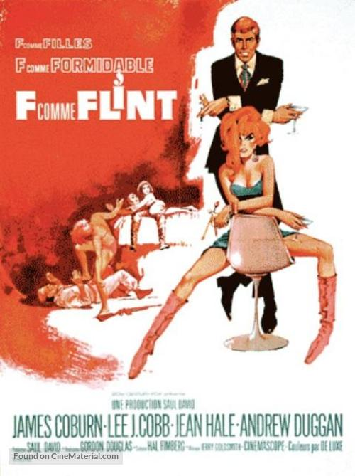 In Like Flint - French Movie Poster