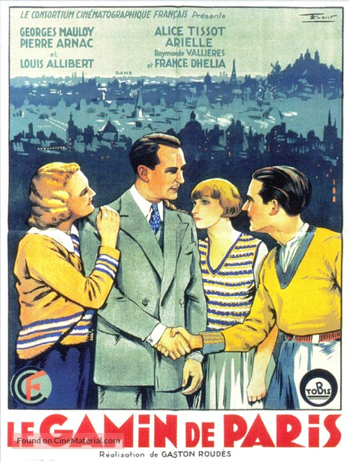 Le gamin de Paris - French Movie Poster