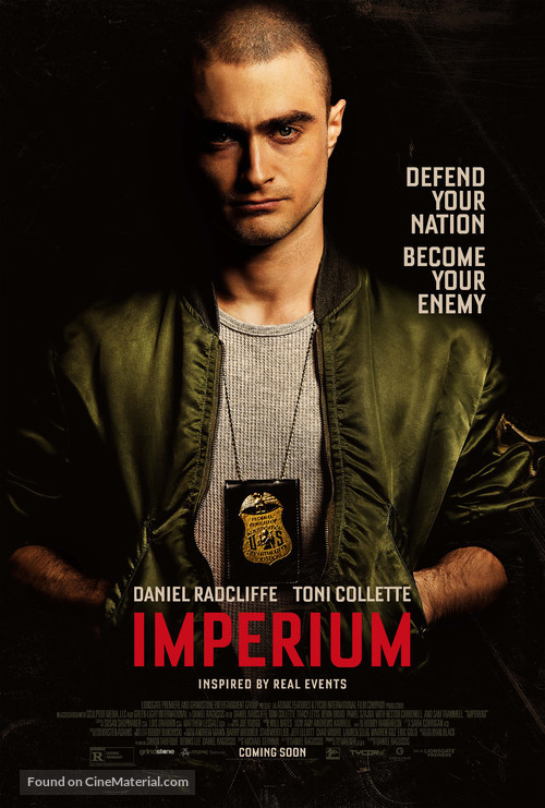 Imperium - Theatrical movie poster