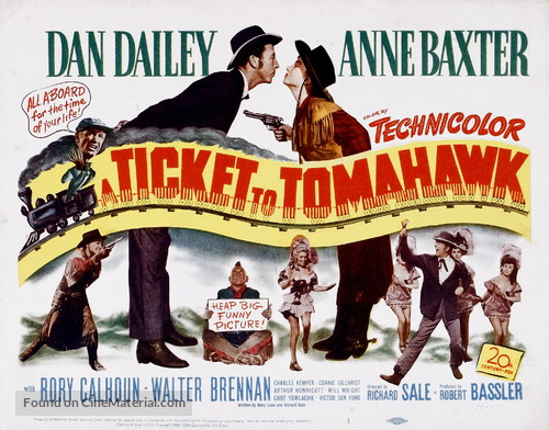 A Ticket to Tomahawk - Movie Poster