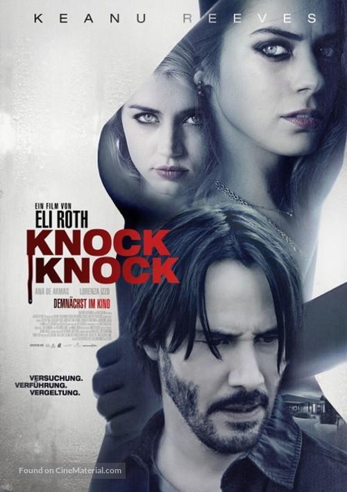 Knock Knock - German Movie Poster