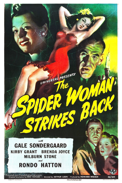 The Spider Woman Strikes Back - Movie Poster