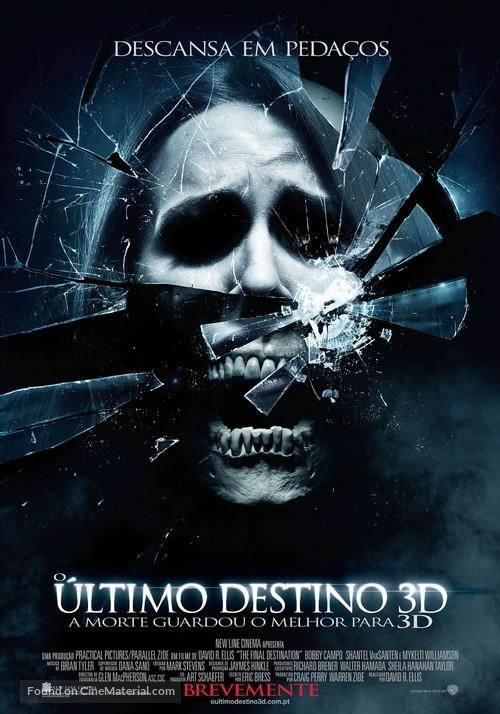 The Final Destination - Portuguese Movie Poster