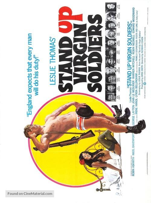 Stand Up, Virgin Soldiers - British Movie Poster