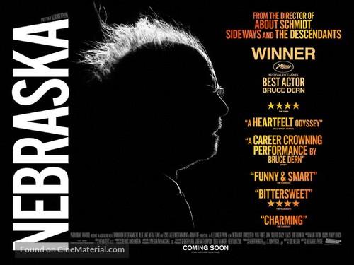 Nebraska - British Movie Poster