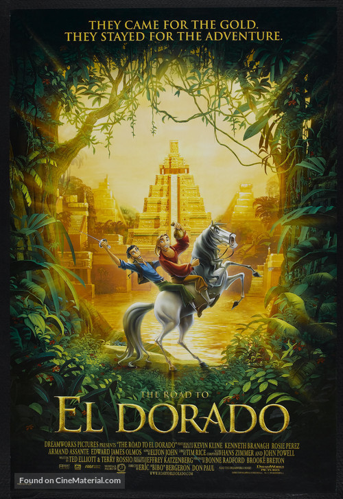 The Road to El Dorado - Movie Poster