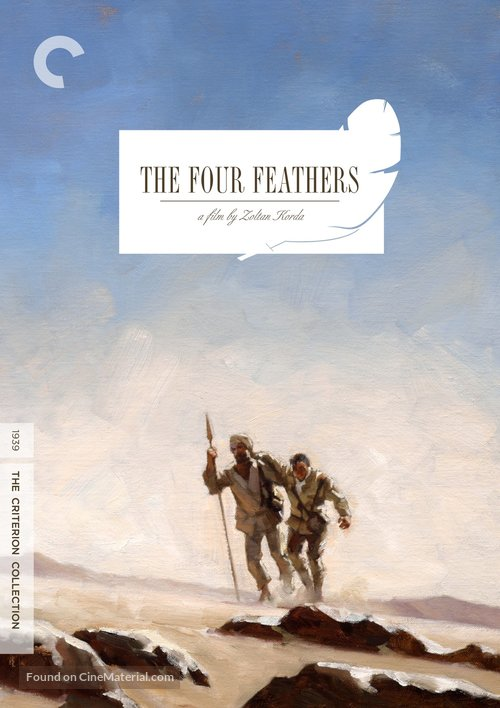 The Four Feathers - DVD movie cover