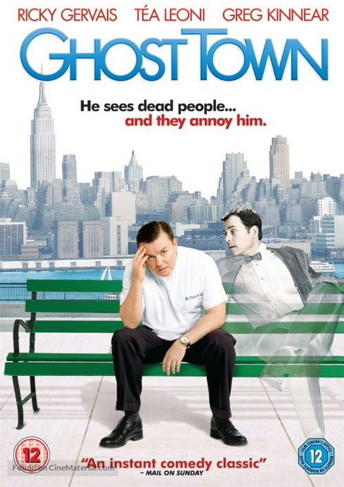 Ghost Town - British DVD movie cover