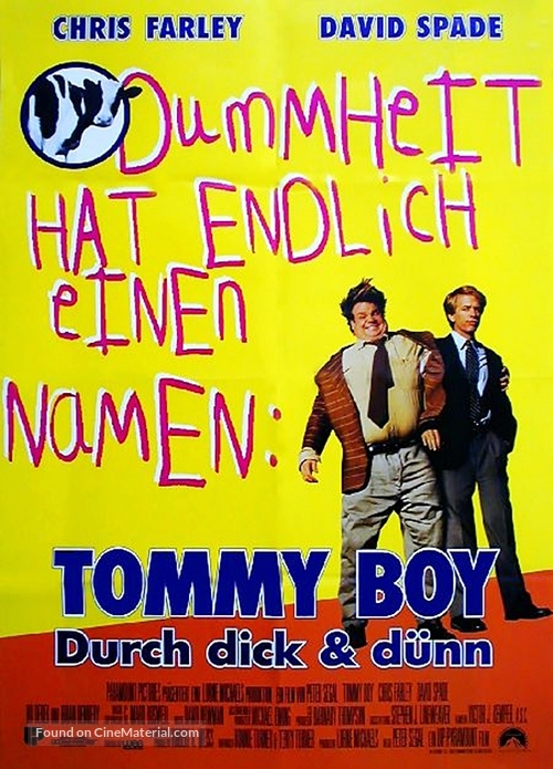 Tommy Boy - German Movie Poster