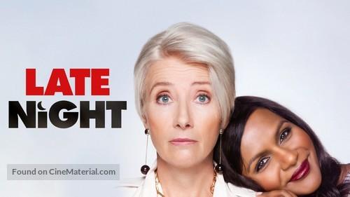 Late Night - Movie Poster