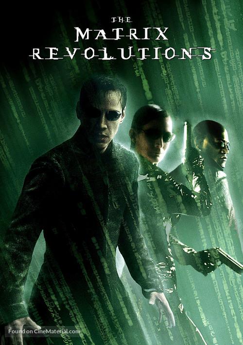 The Matrix Revolutions - German DVD cover