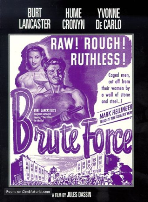 Brute Force - DVD movie cover