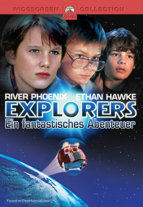 Explorers - German DVD movie cover