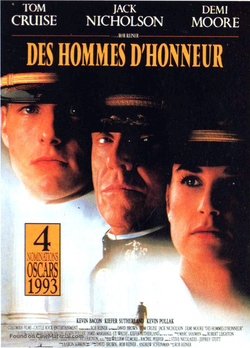A Few Good Men - French Movie Poster