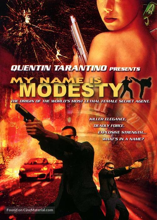 My Name Is Modesty - poster