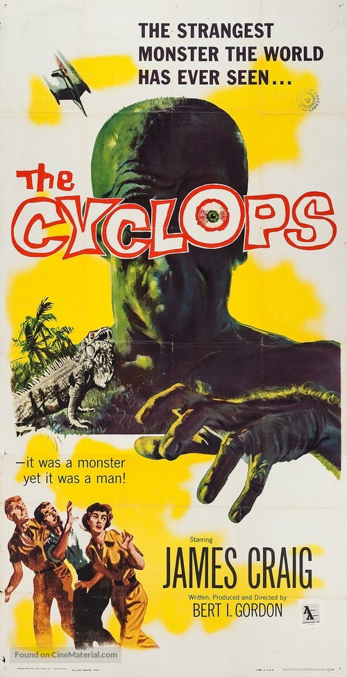 The Cyclops - Movie Poster