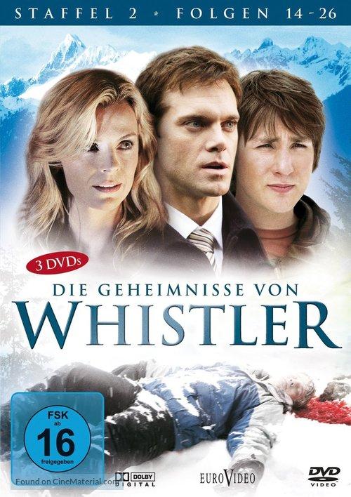 """Whistler"" - German DVD movie cover"