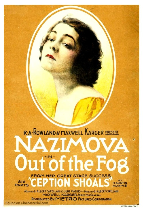 Out of the Fog - Movie Poster
