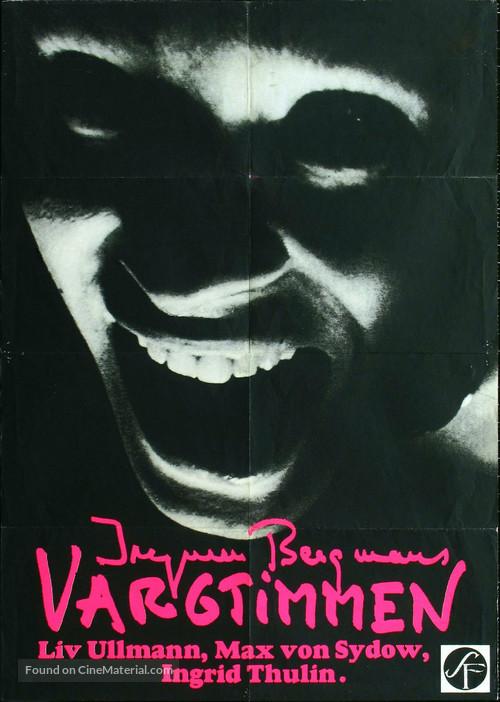 Vargtimmen - Swedish Movie Poster