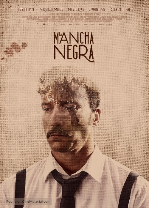La Mancha Negra - Spanish Movie Poster