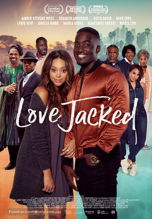 Love Jacked - Canadian Movie Poster