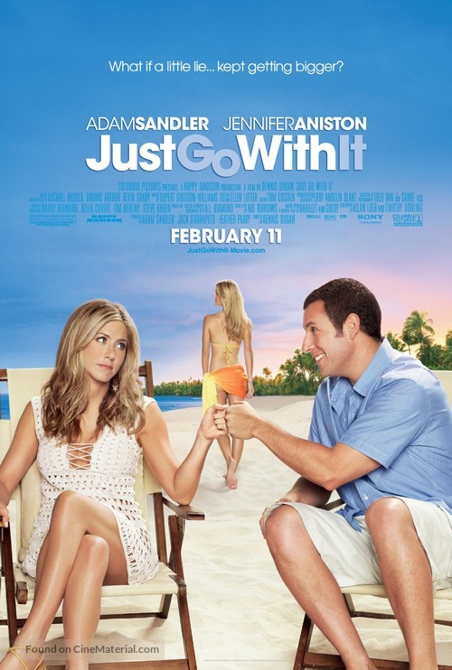Just Go with It - Movie Poster