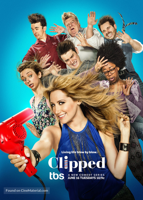 """""""Clipped"""" - Movie Poster"""