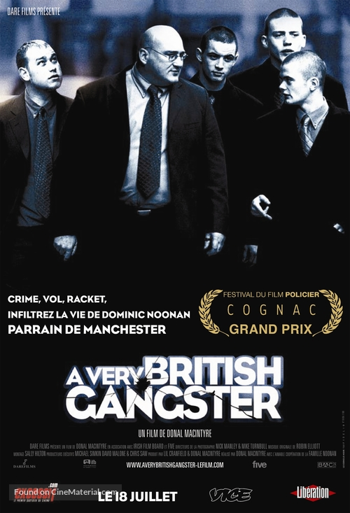 A Very British Gangster - French Movie Poster