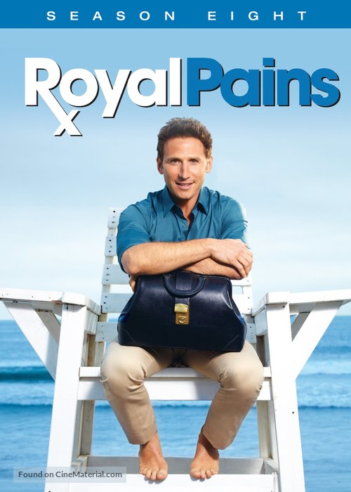 """Royal Pains"" - DVD movie cover"