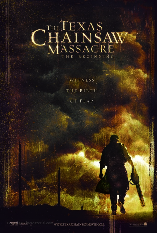 The Texas Chainsaw Massacre: The Beginning - Movie Poster