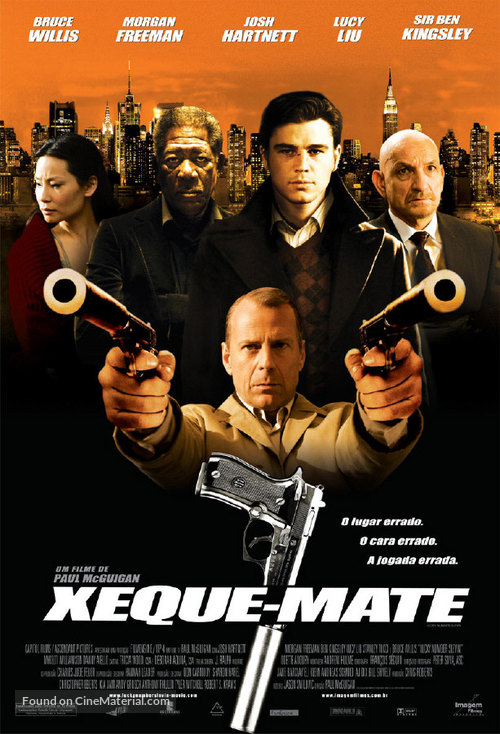 Lucky Number Slevin - Brazilian Movie Poster